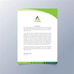 free header templates letterhead template design vector free