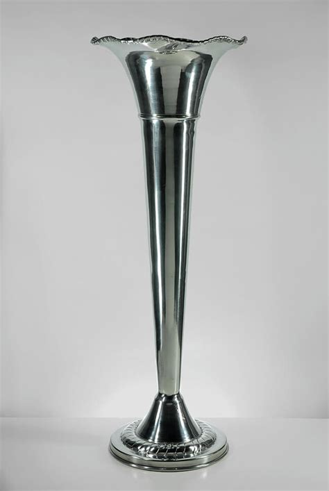 Silver Vases Wholesale by Silver Fluted Vase