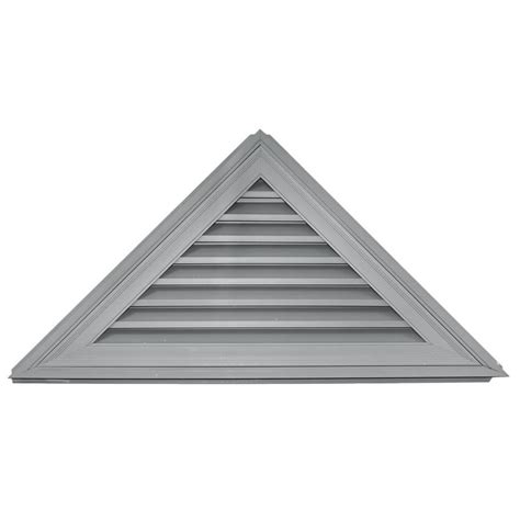 home depot paint triangles shop builders edge 52 in x 26 in paintable triangle vinyl