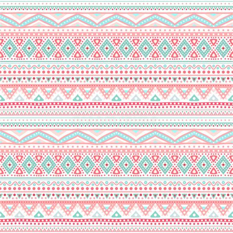 cute ethnic pattern tribal ethnic seamless stripe pattern vector stock vector