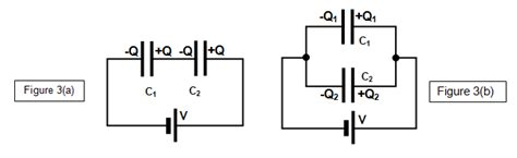 capacitor charge in series schoolphysics welcome