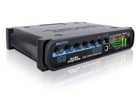 audio interface rack motu audio express 6x6 half rack hybrid firewire usb2