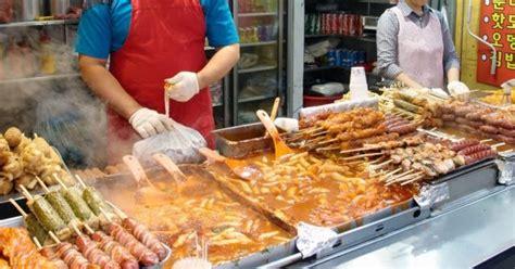 jajanan lezat kaki lima khas korea resep masakan