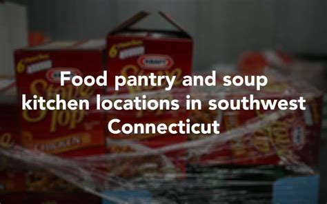 Cicero Food Pantry by Seymour Sponsoring Food Drive Darien News