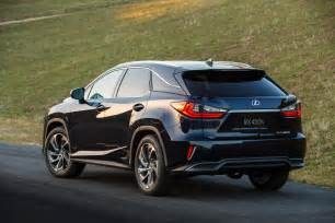 all new 2016 lexus rx breaks cover in new york w