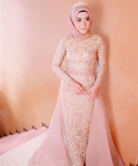 desain gaun yang bagus 12 desain gaun pernikahan muslimah elegan nan sederhana