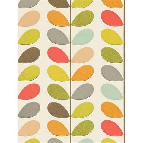 Papier Peint Orla Kiely 779 by Orla Kiely House For Harlequin Multi Stem Wallpaper At