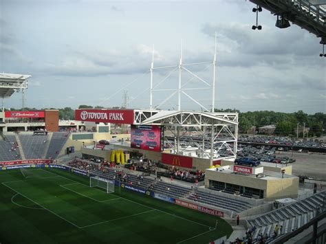 Toyota Park Chicago File Toyota Park Stage In South End Jpg Wikimedia Commons
