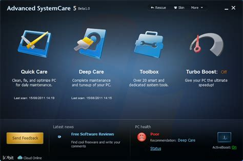 advanced systemcare for android advanced systemcare 5 beta 1 0