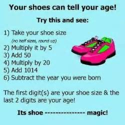 The math behind the shoe size age trick realclearscience