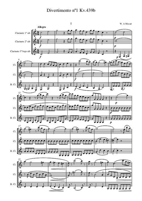 testo requiem mozart partituras mozart clarinete clarinet mozart w a