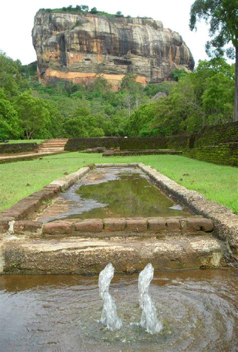 Sigiriya Water Gardens Garden Ftempo Szechuan Garden Rock