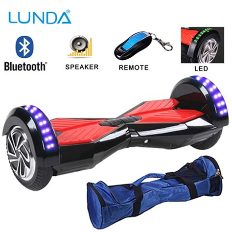Hoverboard Smart Electric Scooter 2nd 8inch With Bluetooth Speaker electric scooters hover board 8 inch bluetooth speaker led light 2 wheel scooter self balancing