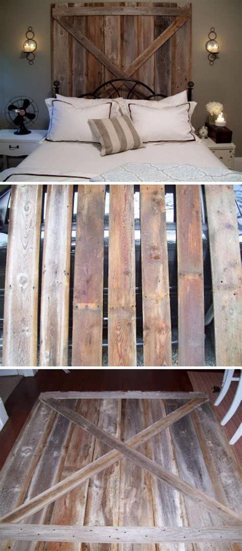 diy rustic headboard ideas 30 rustic wood headboard diy ideas hative