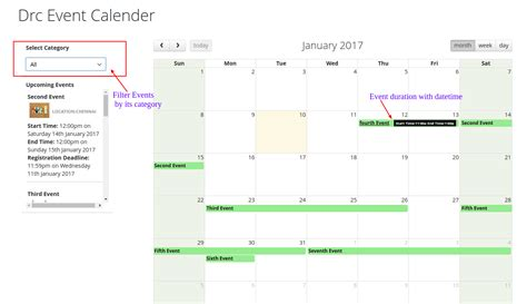 Magento Calendar Extension Events Calendar Magento 2 Extension By Drcsystems Design