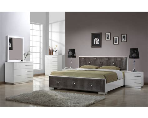 Queen White Bedroom Sets - bedroom furniture sets modern raya furniture