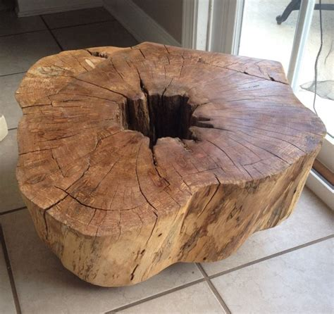 meer dan 1000 idee 235 n tree stump coffee table op