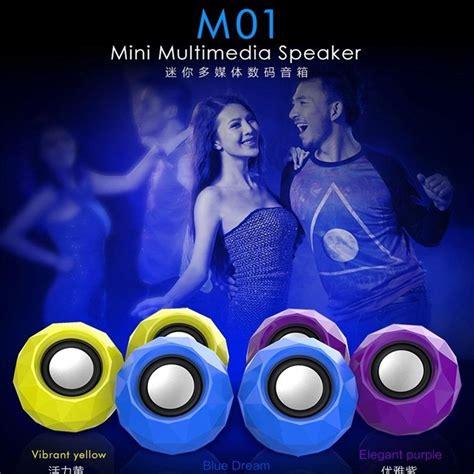 Popu Pine Mini Portable Speaker M01 popu pine mini portable speaker m01 blue jakartanotebook