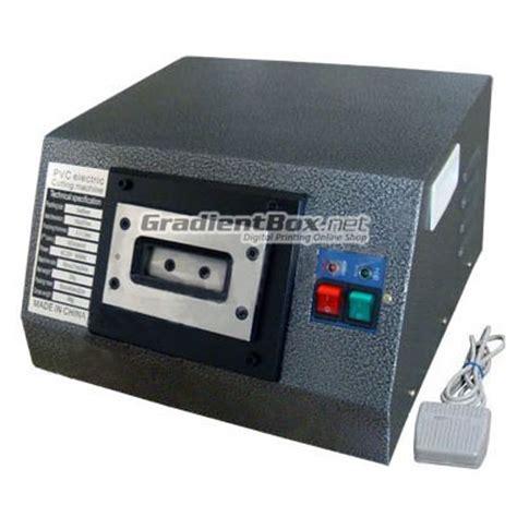 Mesin Laminating Yatai mesin plong elektrik pvc id card semi otomatis