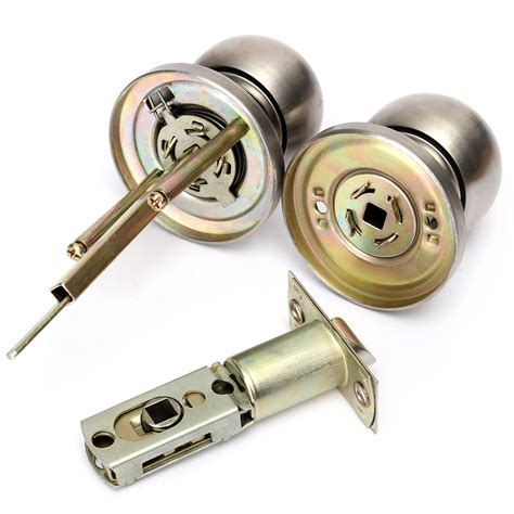 bedroom door knobs with key lock stainless steel professional privacy bedroom room door