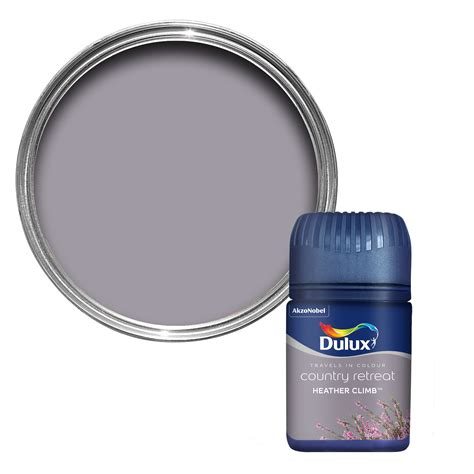 Colour Ideas For Kitchen Dulux Travels In Colour Heather Climb Purple Matt Emulsion