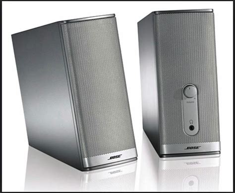 bose 174 companion 174 2 series ii multimedia speaker system