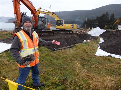 Environmental Protection Specialist by Army Takes Steps To Cleanup Contamination At Former Haines Fuel Terminal