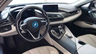 Bmw I8 Inside 2015 Bmw I8 Look And Facts Cars Photos Test