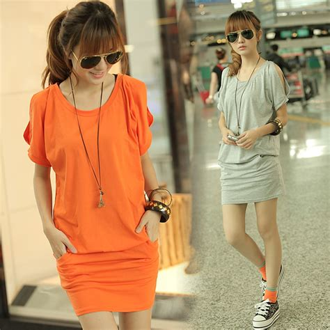 summer for obese people fat people dress summer leisure korean fat mm new code