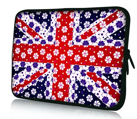 Colorful Netbook Sleeves by Uk Flag 12 Quot Laptop Netbook Notebook Sleeve Colorful