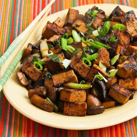 Kalyn S Kitchen by Kalyn S Kitchen 174 Stir Fried Marinated Tofu And Mushrooms