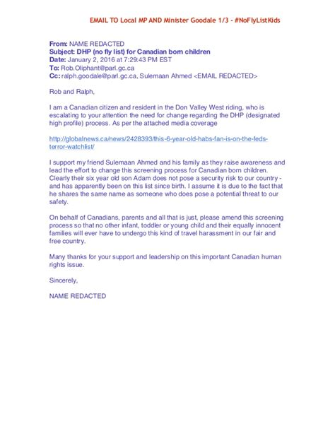 Mp Recommendation Letter For Exles Of Letters To Write Email Your Local Mp And Minister Gooda