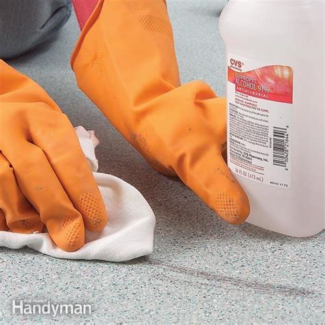 Remove Tough Vinyl Flooring Stains   The Family Handyman