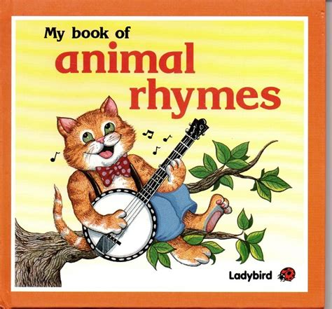 my book of animal rhymes square ladybird book