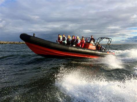 speedboot zee rib varen speedboot varen over de noordzee met 90 km h