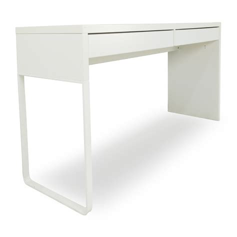 51 Off Ikea Micke White Modern Desk Tables Ikea Modern Desk
