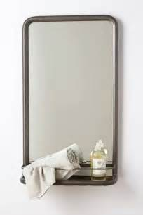 retro bathroom mirror bathroom mirror with shelf home decorators collection