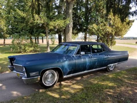 1968 cadillac fleetwood brougham for sale 1968 cadillac fleetwood brougham v8 for sale cadillac