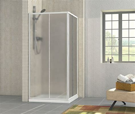 box doccia in acrilico box doccia in acrilico 2 lati apertura scorrevole