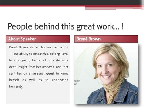 Hubert Silly Mba by The Power Of Vulnerability By Brene Brown