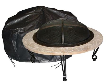outdoor firepit cover paramount outdoor vinyl firepit cover the home
