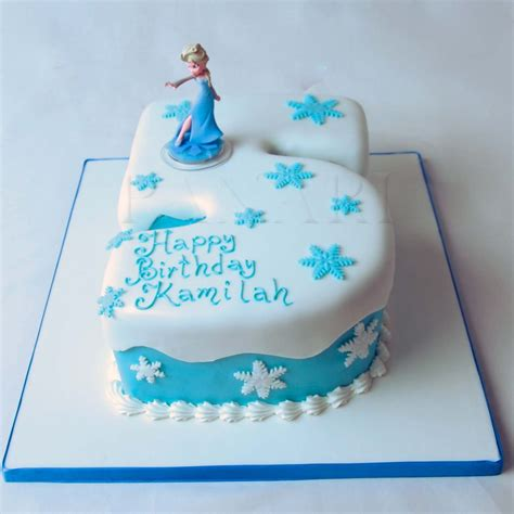 FROZEN NUMBER CAKE PR9880   Panari Cakes