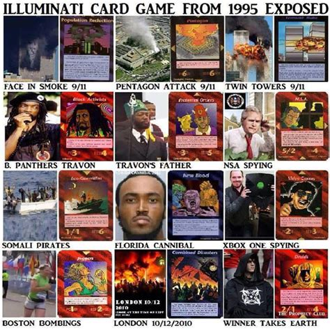 illuminati cards illuminati card predictions illuminati symbols