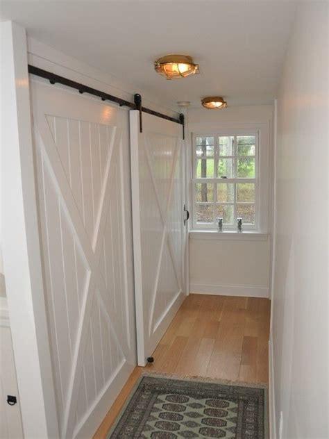Hallway Closet Doors 17 Best Ideas About Barn Door Closet On Pinterest Sliding Barn Doors Barn Doors And Diy