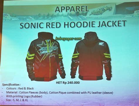 Jaket Hoodie Otomotif Motor Honda New Sonic 150 Font Hoodiesweater ini dia aksesoris honda sonic 150 dan new cb 150r dari oem hingga after market kobayogas