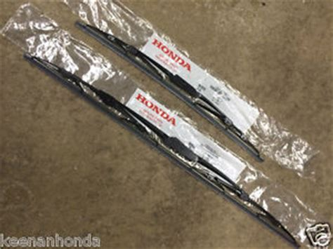 genuine oem honda accord front windshield wiper blades 2003 2007
