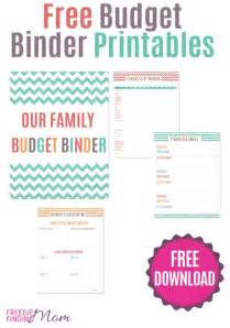 organizing finances template free printable budget binder