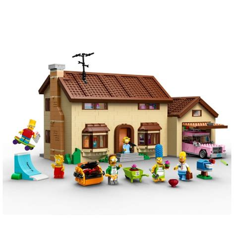 lego casa lego simpsons casa dos simpsons 2523 pe 231 as lego no