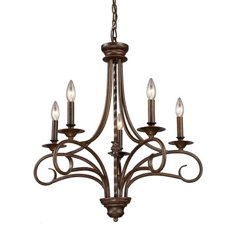 Chandelier Mount Titan Lighting 5 Light Ceiling Mount Antique Brass Chandelier The Home Depot Canada