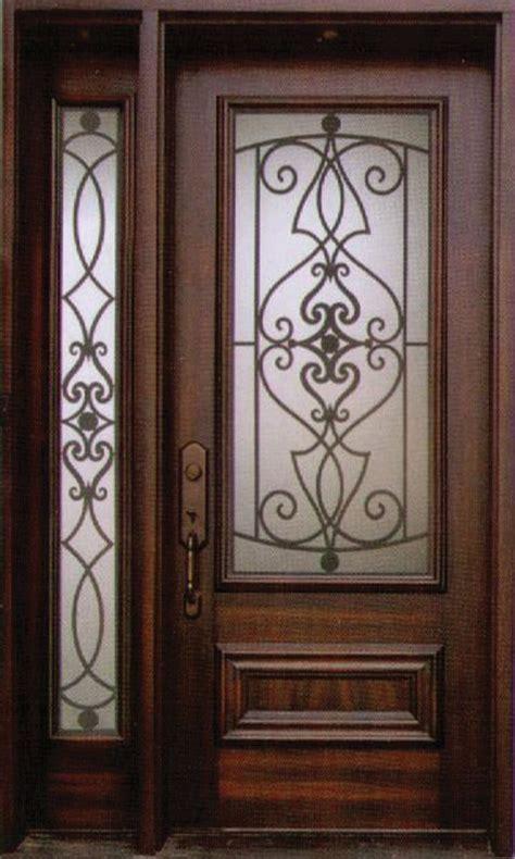 Decorative Wrought Iron Doors - decorative wrought iron front doors inserts toronto